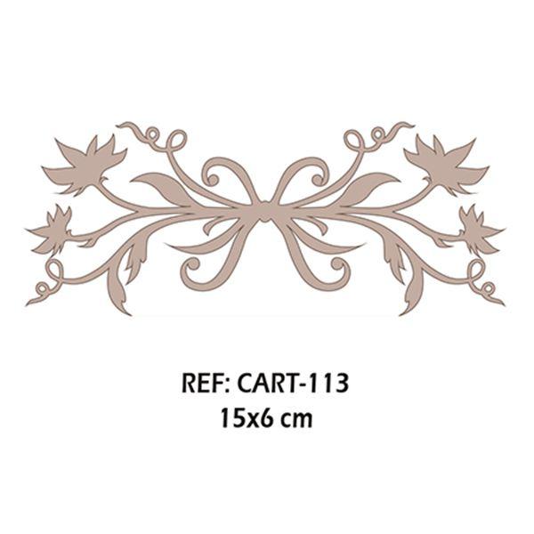 Adorno hojas - CART-113