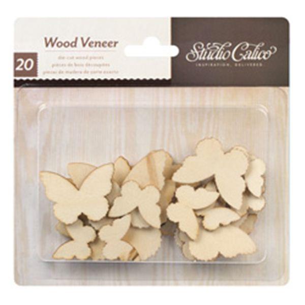 Mariposas de madera - 331050