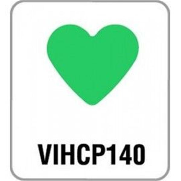 Perforadora corazón pequeña - VIHCP140