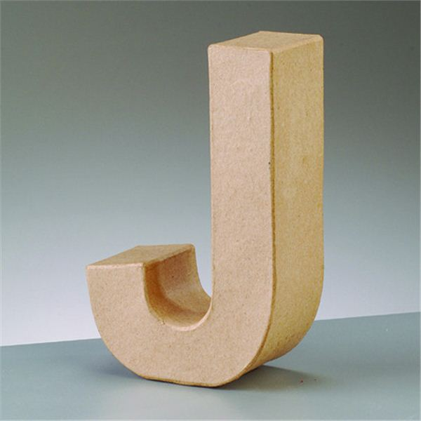 "Letra ""j"" cartón craft de 17.5x5.5cm - 4016299984064"