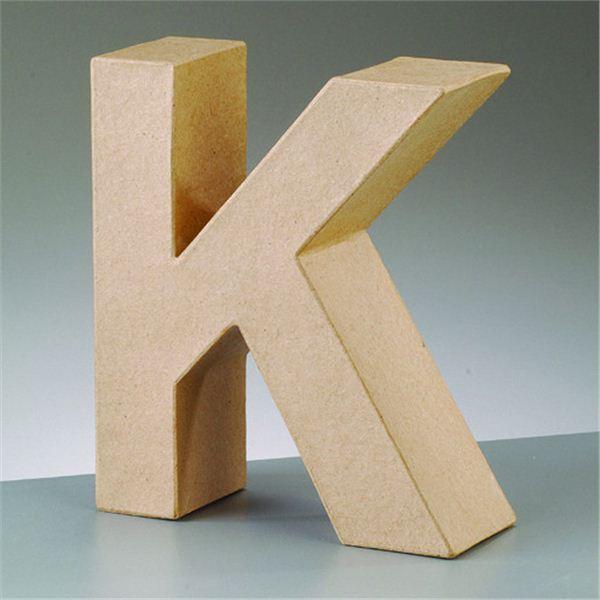 """Letra """"k"""" cartón craft de 17.5x5.5cm - 4016299984071"""