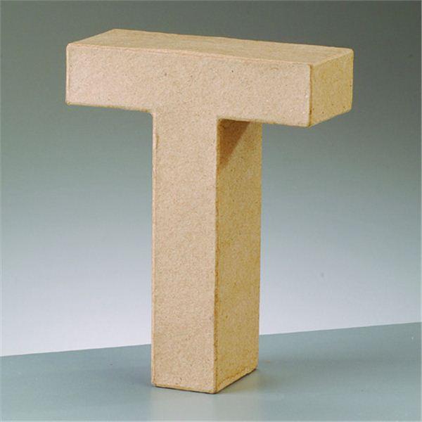 "Letra ""t"" cartón craft de 17.5x5.5cm - 4016299984163"