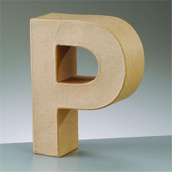 """Letra """"p"""" cartón craft 17.5x5.5cm - 4016299984125"""