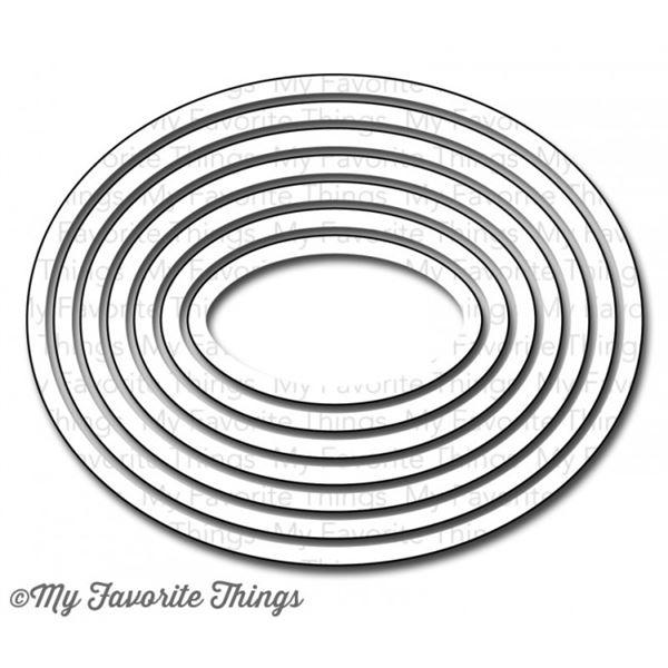 Troquel oval stax set 2 - MFT-0153