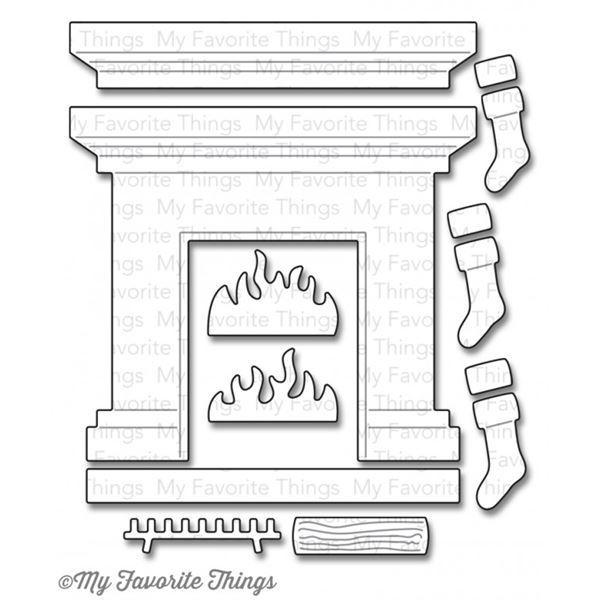 Troquel fireplace - MFT-0789