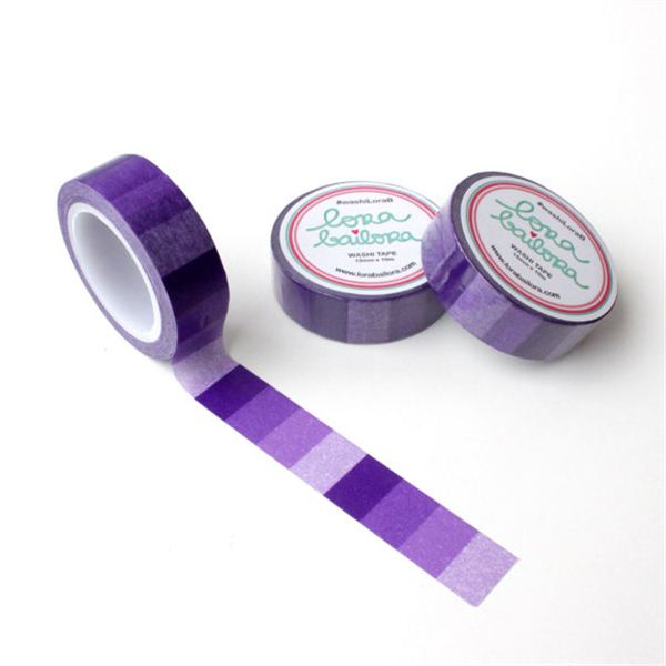 Washi tape lora bailora-degradado violeta - WLB0027