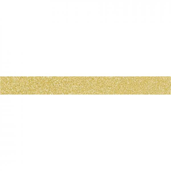Washi tape purpurina oro 1.5cmx5m - 11004442