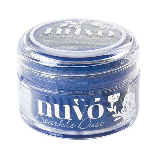 Nuvo sparkle dust-electric blue 15ml - 0704000551