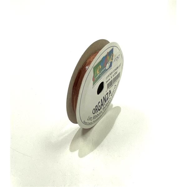 Rollo organza-bruin - 8716052115112