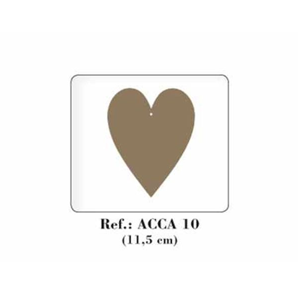 Corazón de madera - ACCA10