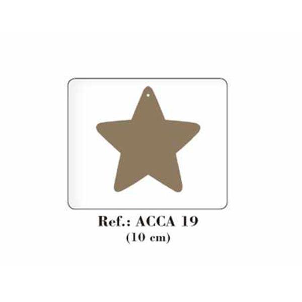 Estrella de madera - ACCA19