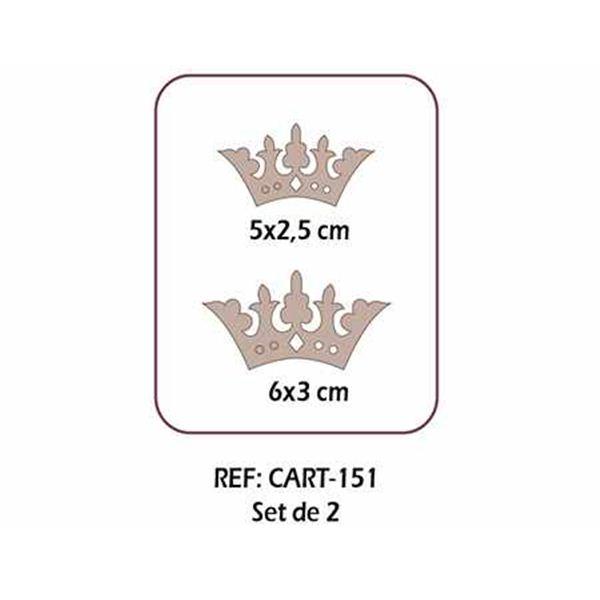 Set de 2 coronas - CART-151