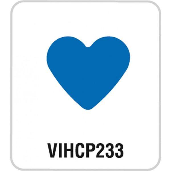 """Perforadora corazón 1"""" - VIHCP233"""