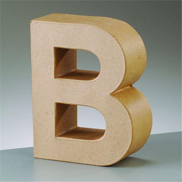 """Letra """"b"""" cartón craft de 17.5x5.5cm - 4016299983982"""