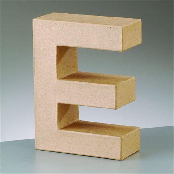 """Letra """"e"""" cartón craft de 17.5x5.5cm - 4016299984019"""