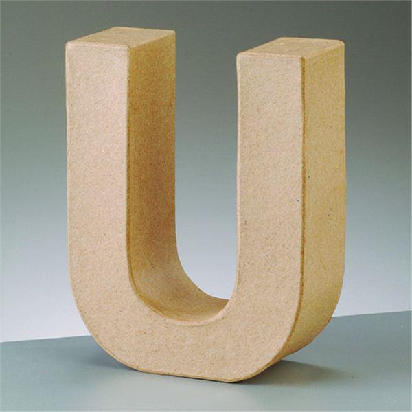 """Letra """"u"""" cartón craft de 17.5x5.5cm - 4016299984170"""