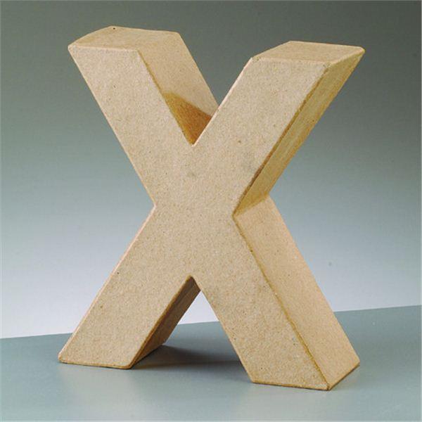 """Letra """"x"""" cartón crafts de 17.5x5.5cm - 4016299984200"""