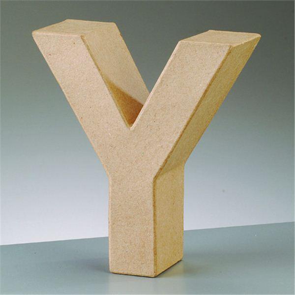 """Letra """"y"""" cartón craft de 17.5x5.5cm - 4016299984217"""