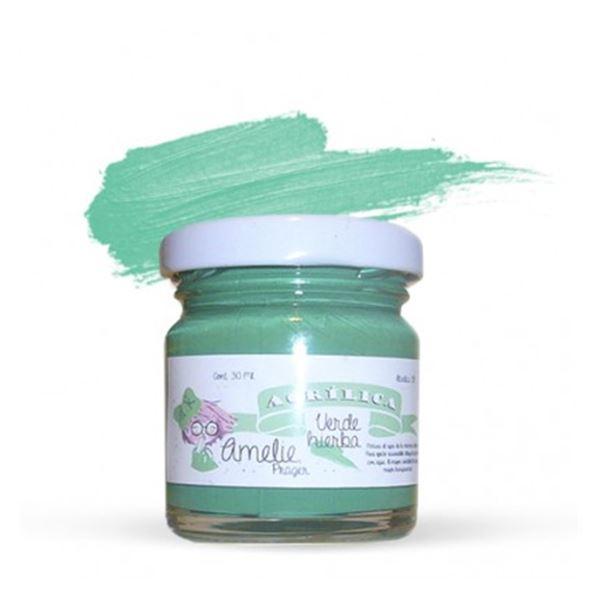 Acrílica verde hierba 30ml - AMA-09