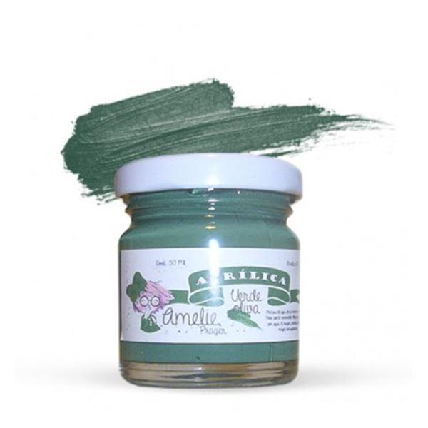 Acrílica verde oliva 30ml - AMA-10