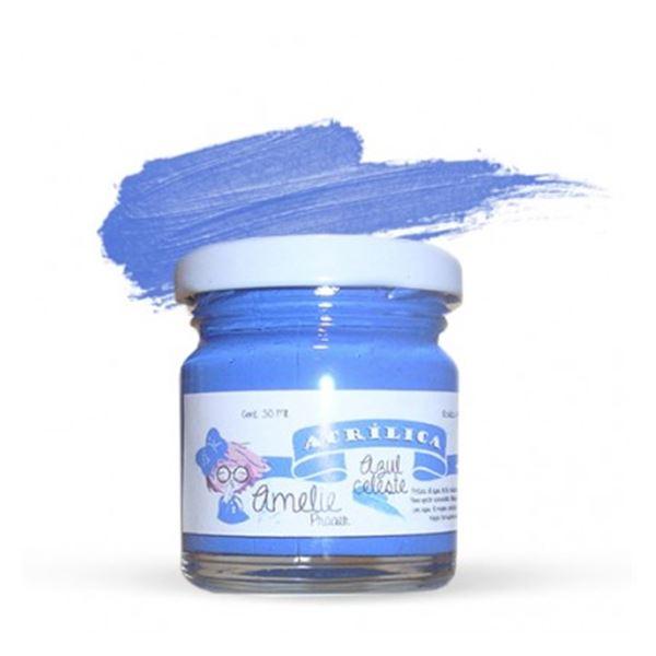 Acrílica azul celeste 30ml - AMA-14