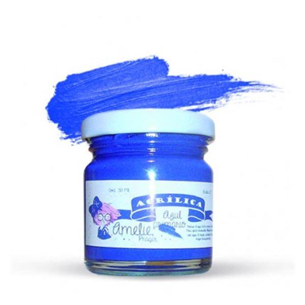 Acrílica azul primario 30ml - AMA-17
