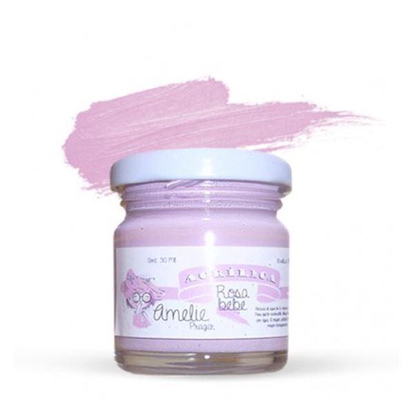 Acrílica rosa bebé 30ml - AMA-19