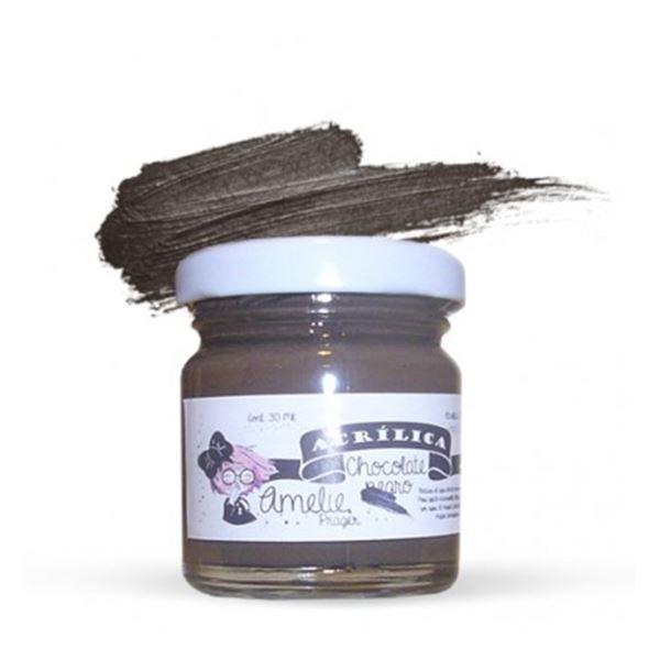 Acrílica chocolate negro - AMA-37