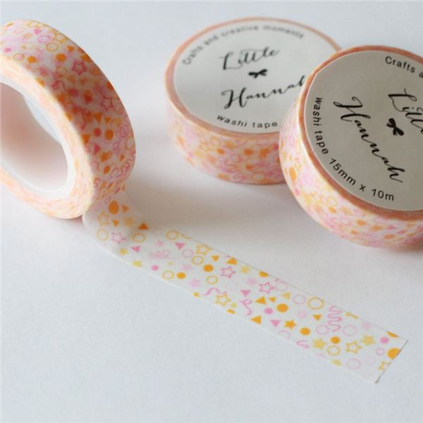 Washi tape little hannah-confetti pastel - WT-CONFETTI-P