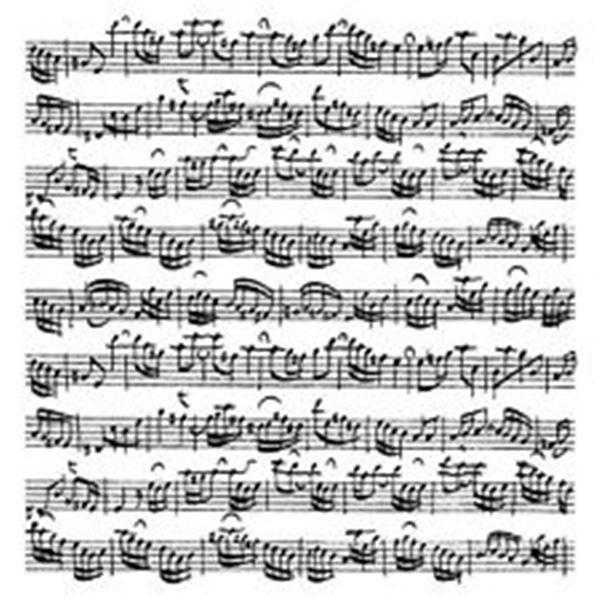 Sello partitura 9.5x9.5cm - ARTHK508