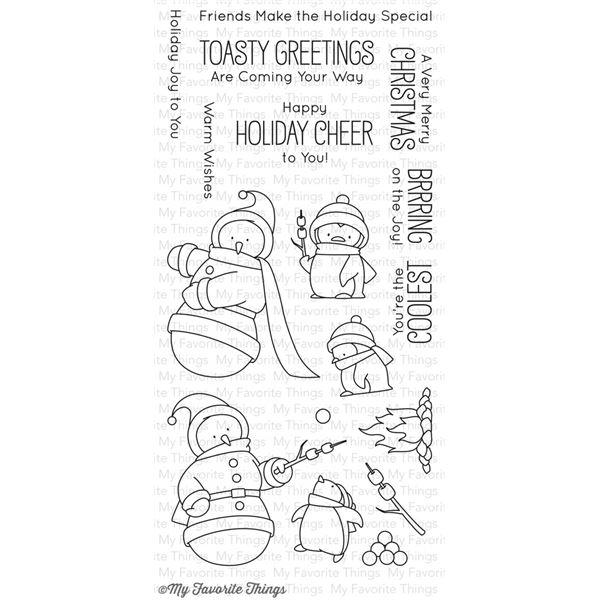 Toasty greetings - BB-27