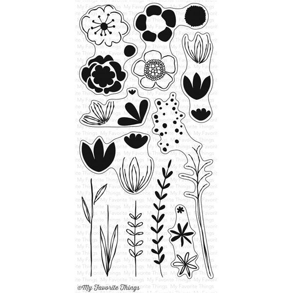 Sketched blooms 2 - CS-166