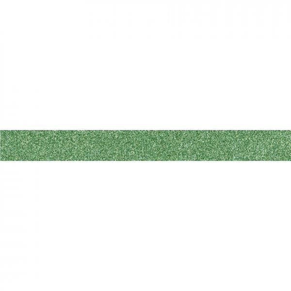 Washi tape purpurina verde 1.5cmx5m - 11004445