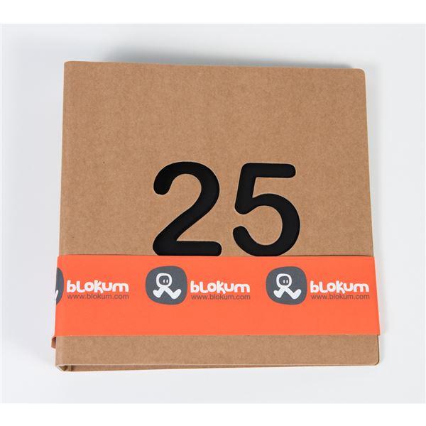 Álbum kraft 25 años 2 anillas 22x22cm - BK011-02