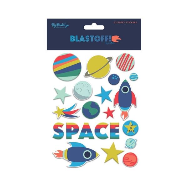 Puffy stickers blast off - BST117