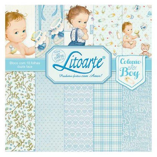 "Pad 12x12"" baby boy 2 (18hj) - 1430902009"