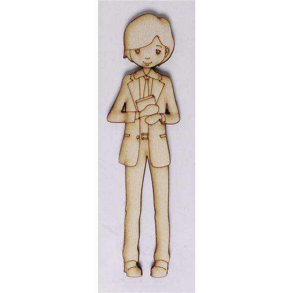Silueta niño comunión corbata 17cm - 0321003133