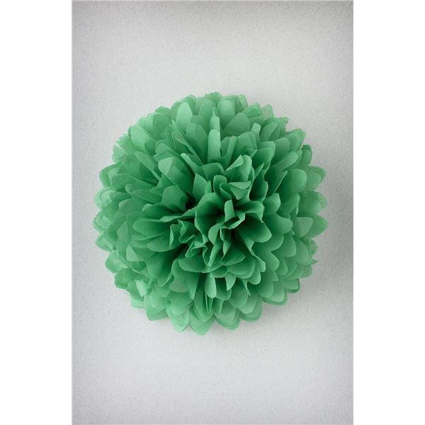 Pompon vert prairie m-35cm - PVP