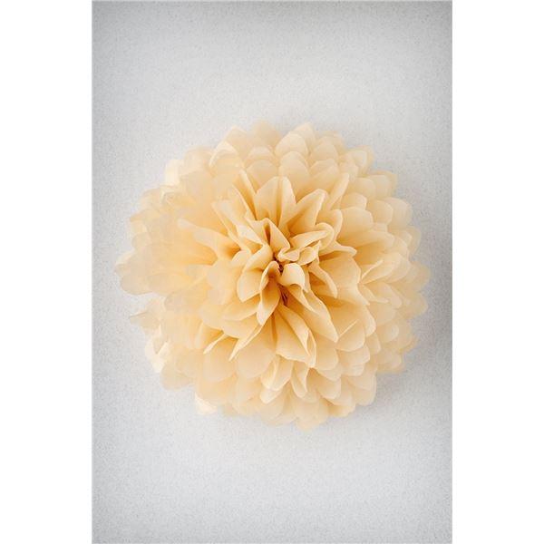 Pompon vanille xs-17cm - PV