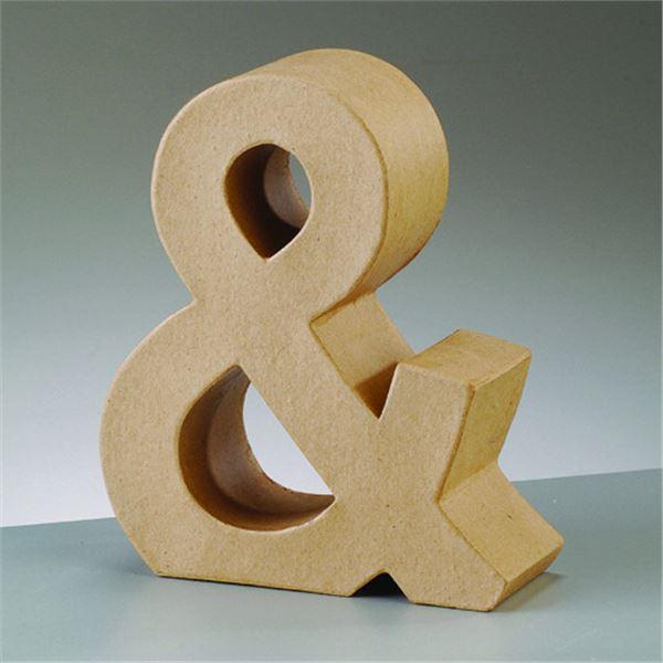 """Símbolo """"&"""" cartón craft de 17.5x5.5cm - 4016299024340"""