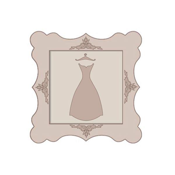 Set cuadro vestido falda estrecha - SLT182A