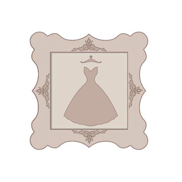 Set cuadro vestido falda mediana - SLT182B