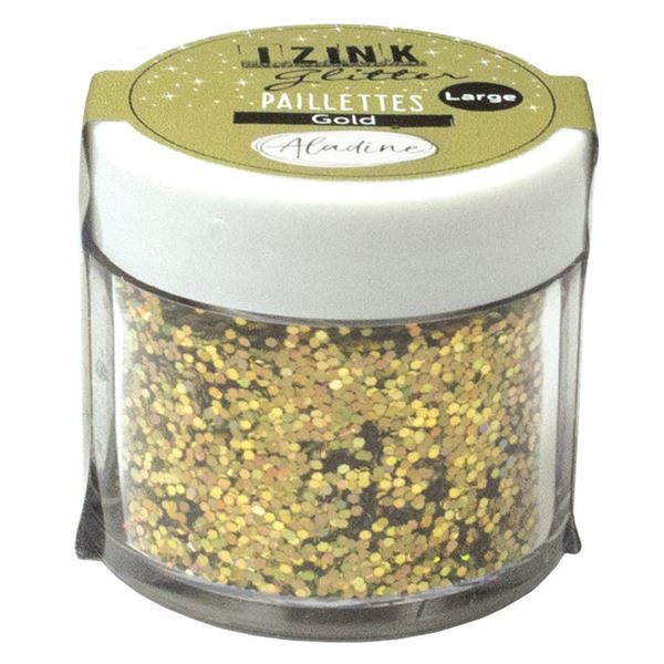 Izink glitter gold 30ml - 80847