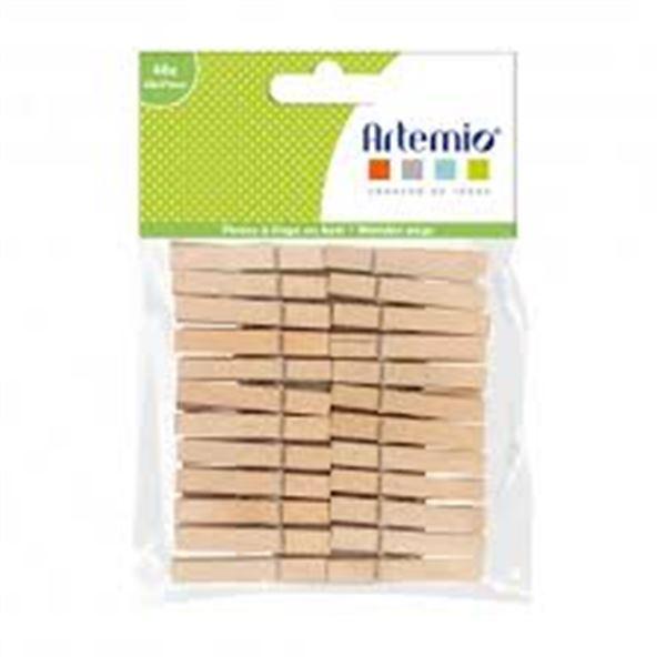 48 pinzas de madera - 11060636