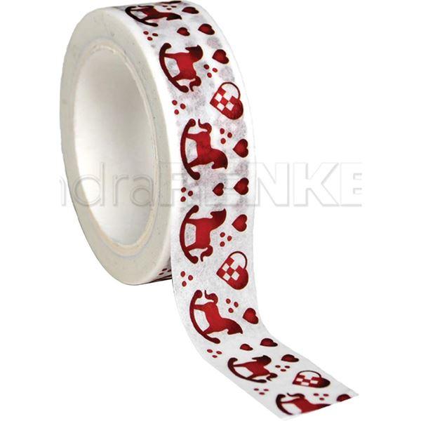 Washi tape red xmas - 0000879326