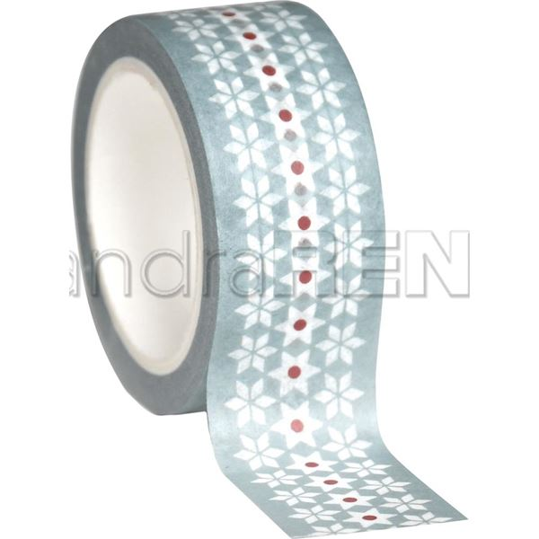 Washi tape red xmas - 0000879327