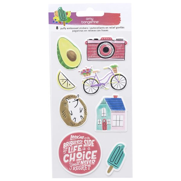 Puffy stickers stay sweet - 351209