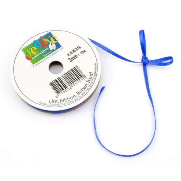 Lazo satinado-royal blue 3mmx10m - 8716052111510