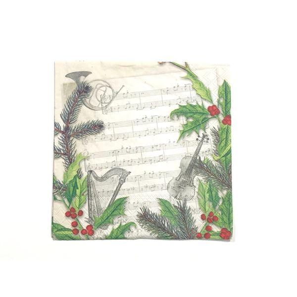 Christmas song 33x33cm (1 unidad) - 8712159138627