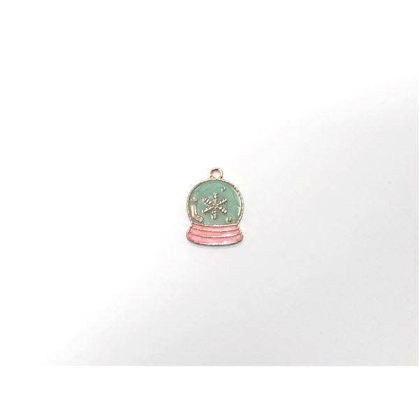 Charm bola de navidad 2cm - BOLANAVIDAD